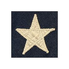 "Flag Star Square Sticker 3"" x 3"""