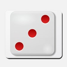 3 Dice Roll Mousepad