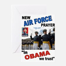 AIR FORCE PRAYER Greeting Cards