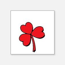 """valentines-schmalentinesWHT Square Sticker 3"""" x 3"""""""