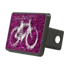 Bicycle Hot Pink Hitch Cover