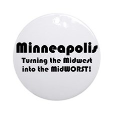 MidWORST Ornament (Round)