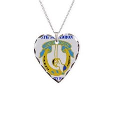 5-7TH CAV RGT WITH TEXT Necklace