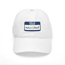 Feeling nourished Baseball Cap
