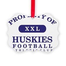 Huskies Ornament