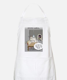 Potato Mafia Funny Greeting Card Apron