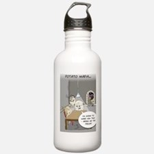 Potato Mafia Funny Gre Water Bottle