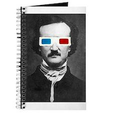 Edgar Allan Poe 3D Glasses Altered Art Journal