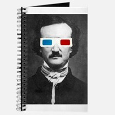 Edgar Allan Poe 3D Glasses Altered Art Journal