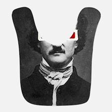 Edgar Allan Poe 3D Glasses Altered Art Bib