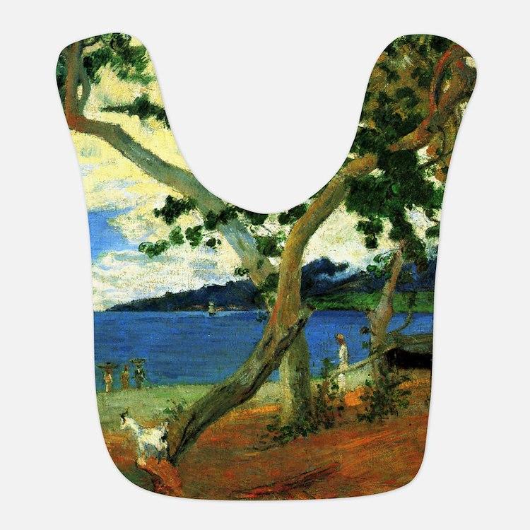 Paul Gauguin Beach Scene Bib