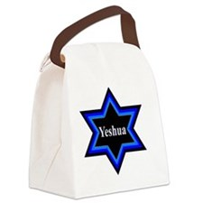 Yeshua Star of David Canvas Lunch Bag
