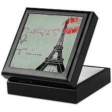 Paris-3 Keepsake Box