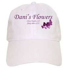Danis Flowers Plum Baseball Cap