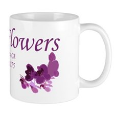 Danis Flowers Plum Mug
