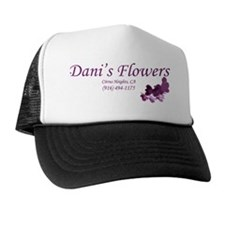 Danis Flowers Plum Trucker Hat