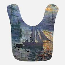 Claude Monet Sunrise At Sea Bib