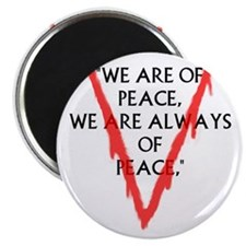 We are of PeaceLarge Magnet