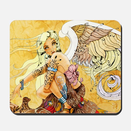 blondeangel11x17 Mousepad