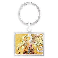 blondeangel11x17 Landscape Keychain