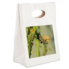 caterpillar 3 Canvas Lunch Tote