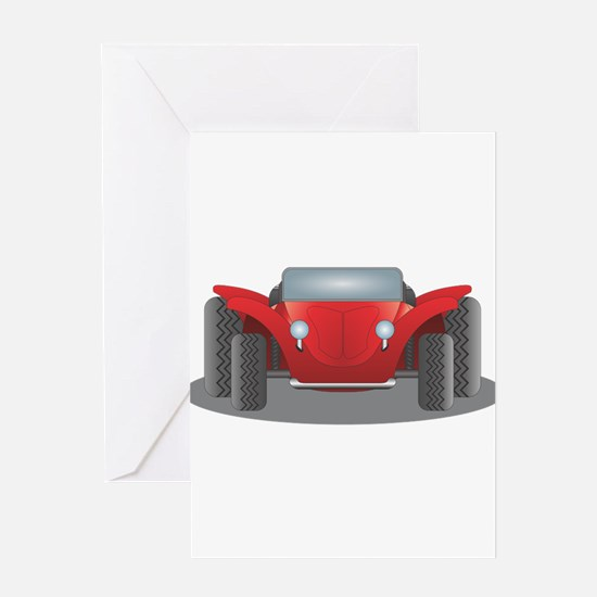 Dune Buggy Greeting Cards