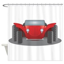 Dune Buggy Shower Curtain