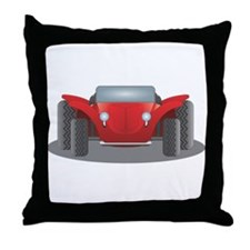 Dune Buggy Throw Pillow