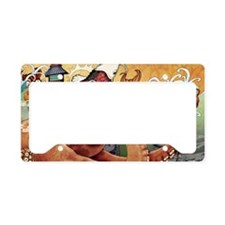 octokoi11x17 posters License Plate Holder