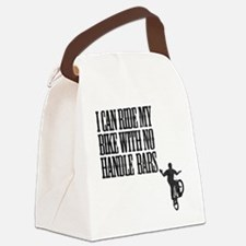 no handlebars t-shirt Canvas Lunch Bag