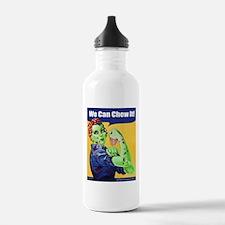 Zombie Rosie the Riveter We Can Chew It Water Bott