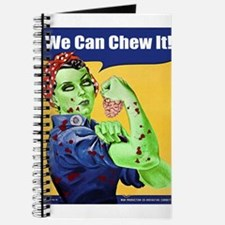 Zombie Rosie the Riveter We Can Chew It Journal