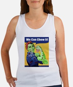 Zombie Rosie the Riveter We Can Chew It Tank Top