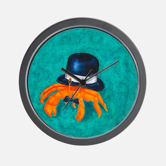 Hermy to the Nines Wall Clock
