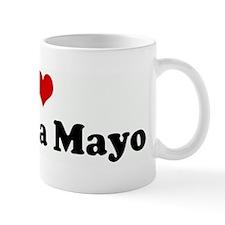 I Love Amanda Mayo Mug