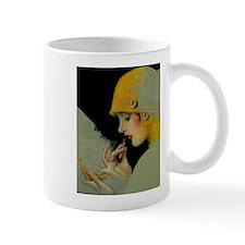 Art Deco Roaring 20s Flapper With Lipstick Mugs