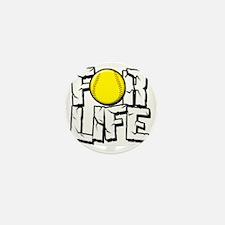 For Life Softball Mini Button