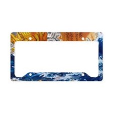 samuraimonk11x17 posters License Plate Holder