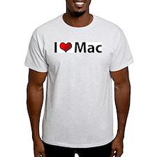 I love Mac Ash Grey T-Shirt