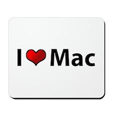 I love Mac Mousepad