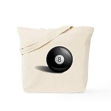 Pool Eight Ball Tote Bag
