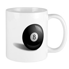 Pool Eight Ball Mugs