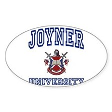 JOYNER University Oval Decal