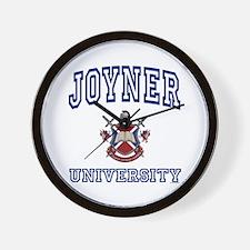 JOYNER University Wall Clock