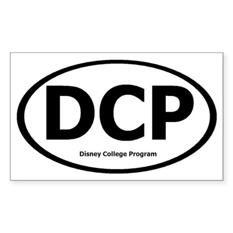 DCP Sticker (Rectangle)