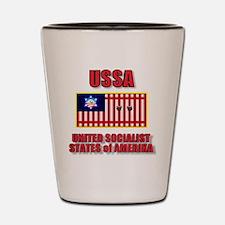 UNITED SOCIALIST STATES-3 Shot Glass