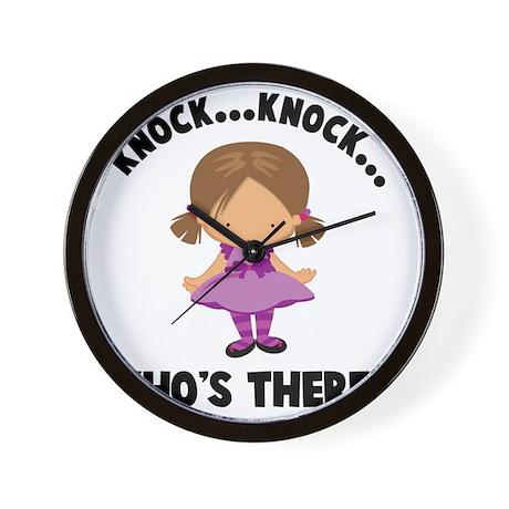 Knock Knock Big Sister Wall Clock