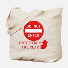 donotenter Tote Bag