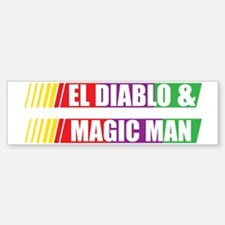 El Diablo and Magic Man Bumper Bumper Sticker