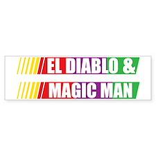 El Diablo and Magic Man Bumper Stickers